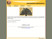 Tablet Preview of drvodekor.co.rs